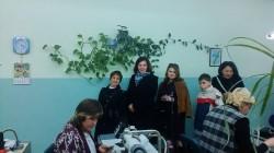 Ганна Пушкар відвідала взуттєву фабрику
