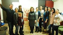 17 грудня Юлія Жданова, керівник Студії РозУмка, відвідала методичний майстер-клас «Викладання англійської. Альтернативно».