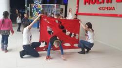21 січня в ТРЦ Голлівуд Студія РозУмка провела Квест для активних и кмітливих дітей 6-10 років