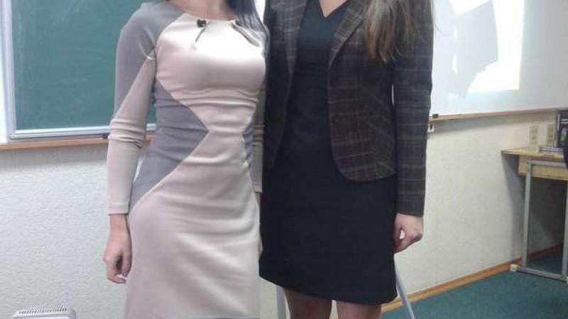 Юлія Жданова, відвідала бізнес-семінар