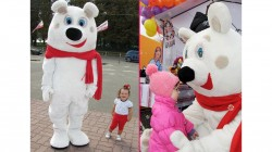 Виклик ростової ляльки Ведмідь або Свинка Пеппа